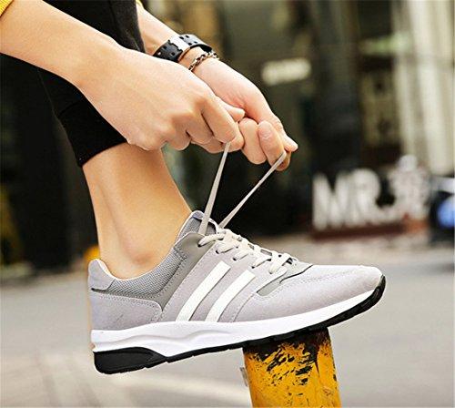 Unisex Gris Deportivo Zapatillas Adulto Running Calzado mogeek de Deportes acTqIWOww