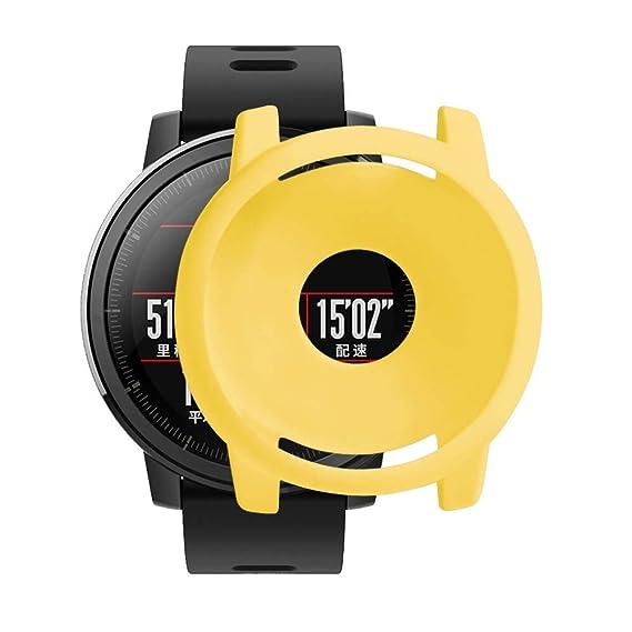 Reloj Estuche Protector para Xiaomi Huami AMAZFIT 2 / 2S Reloj ❤ Absolute Cubierta de la Caja Completa de Silicona Suave protección TPU Funda Protectora: ...