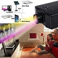 SKB family 4000 Lumens HD 1080P Home Theater Projector 3D LED Portable SD HDMI AV USB New