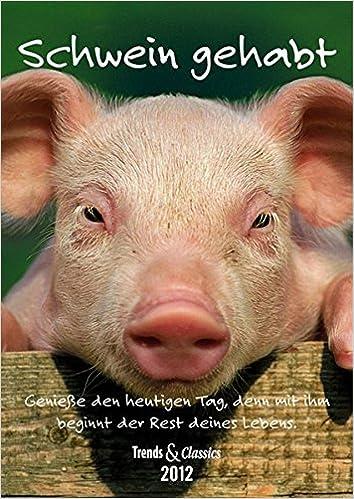Schwein Gehabt T C Kalender 2012 Amazonde Bã¼cher