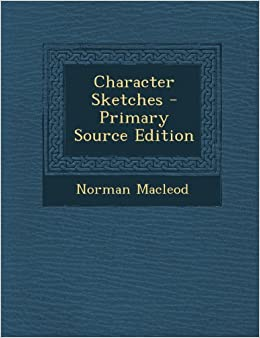 Book Character Sketches - Primary Source Edition
