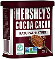 HERSHEY'S Baking Chocolate, Unsweetened Cocoa, 226 Gram (Packaging May V
