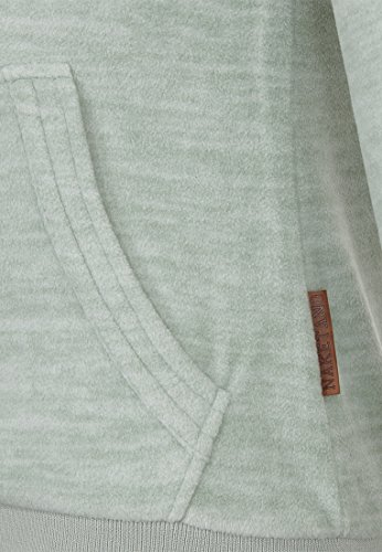 Naketano Female Zipped Jacket Redefreiheit? Milky Green Melange, XL