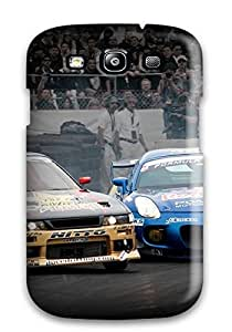 IAoyepb1206mCjdV Tpu Phone Case With Fashionable Look For Galaxy S3 - Attractive Free Import Car Drifting Formula by icecream design