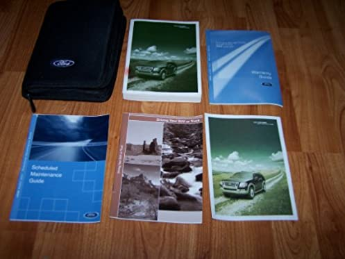 amazon com 2006 ford explorer owners manual ford motor company books rh amazon com Vehicle Owner's Manual Ford Focus Owners Manual