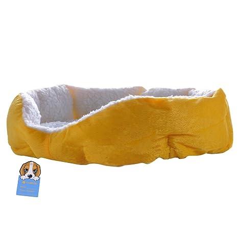 Redonda o forma ovalada Dimple Polar Nesting perro Pet de cama Cueva gato cama para gatos