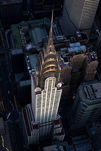 ''Into The Light'' Fine Art Print, Chrysler Building, New York City, Aerial View, Art Deco, Midtown, Manhattan - Travel Photography, Print, Wall Art by TheWorldExplored