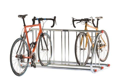 Schwinn Grid Rack 10 Bike Double Sided Parking Rack, Silver by Schwinn
