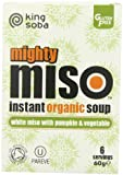 King Soba Organic Pumpkin And Vegetable Mighty Miso 60 G (Pack Of 5)