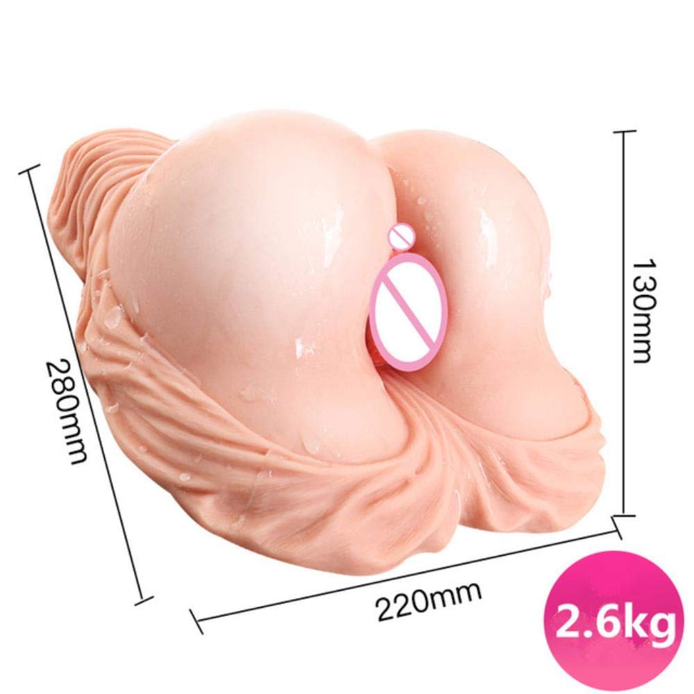 2.6kg Silicone Big Ass 3D Sex Doll Artificial Vagina Anus Sex Toys for Men Male Masturbator Pussy Masturbate for Man Sex Shop
