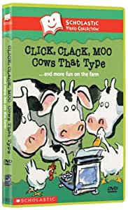 Click Clack Moo - Cows That Type & More Fun on the Farm (Scholastic Video Collection)