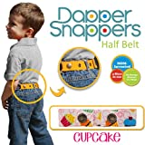 Dapper Snapper Made in USA Baby & Toddler Adjustable Belt-Cupcakes