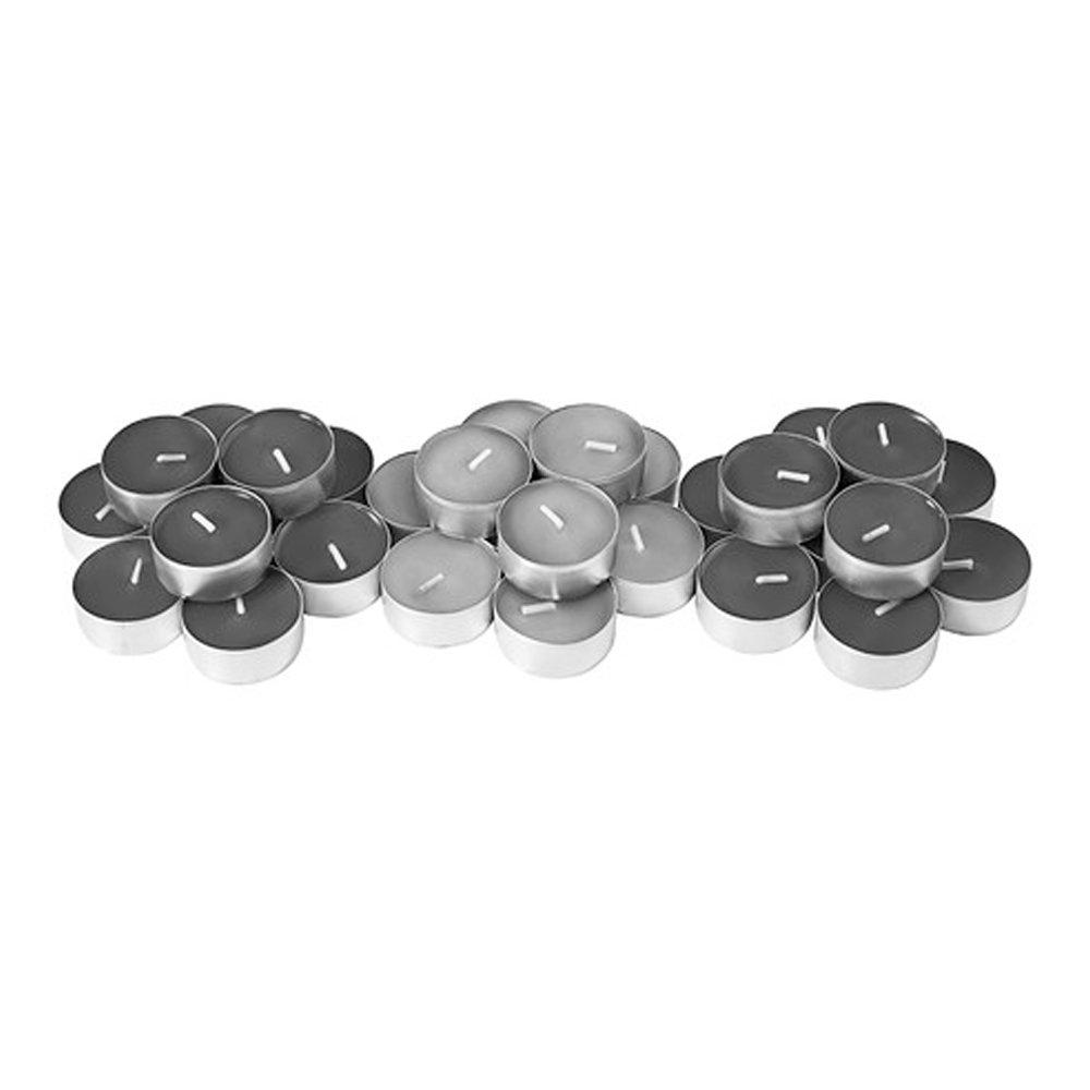 30 pezzi Ikea Sinnlig lumini grigi aromatizzati calmanti per terme e spa