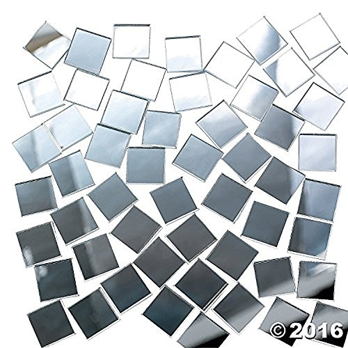 Marvelous Mirror Tiles 400 Pieces