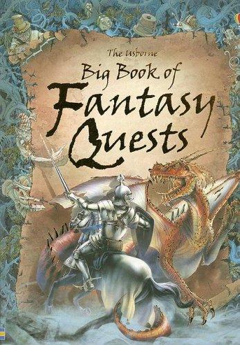 Amazon com: The Usborne Big Book of Fantasy Quests: Combined
