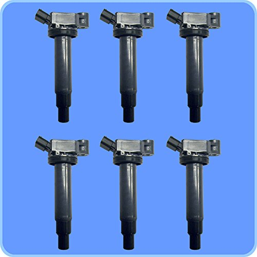 (New AD Auto Parts High Performance Ignition Coil B149 Set of 6 For Lexus & Toyota)