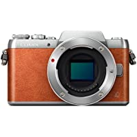 Panasonic Lumix G DMC-GF8 (Orange Body Only) (International Model) No Warranty