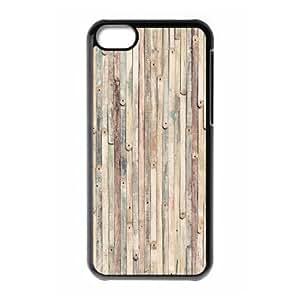 Fantastic Vintage Wood logo Design for iPhone 5c hard back case