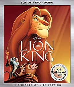 Cover Image for 'Lion King: Walt Disney Signature Collection [Blu-ray + DVD + Digital]'