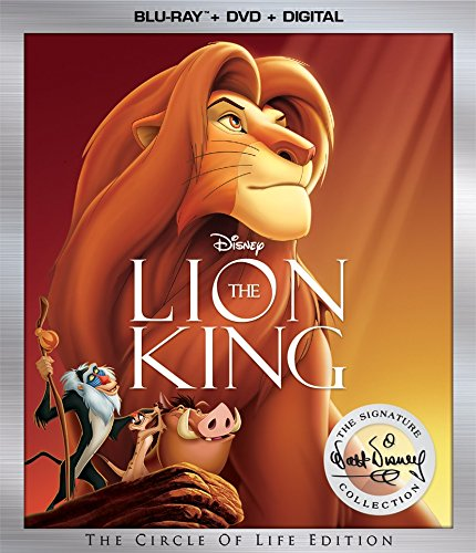Disney The Lion King Blu-ray - Walt Disney Signature Collection