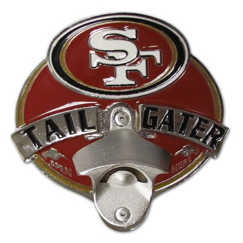 (Siskiyou NFL San Francisco 49ers Tailgater Hitch Cover, Class III)