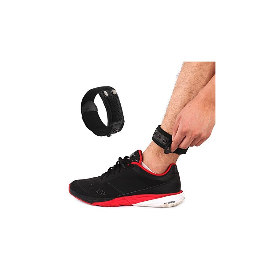 Baaletc Ankle Wrap Band for Fitbit Flex/2, Fitbit Zip, Fitbit Alta activity Trackers Count Your Steps More Accurately When Cycling or Running On the Treadmill