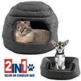 Best  - Pet Igloo Cat Dog House Bed Kitten Puppy Review