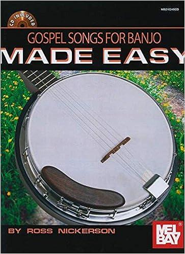 Amazon.com: Gospel Songs for Banjo Made Easy Book/CD Set ...