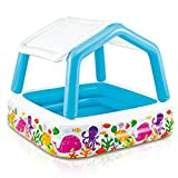 "Intex Sun Shade Inflatable Pool, 62"" X 62"" X 48"", for Ages 2+"