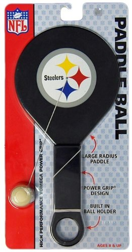 NFL Pittsburgh Steelers Paddleball Game from SteelerMania