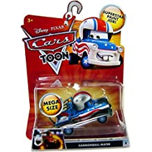 Disney Pixar CARS Toon Mater the Greater CANNONBALL MATER Stunt Mater