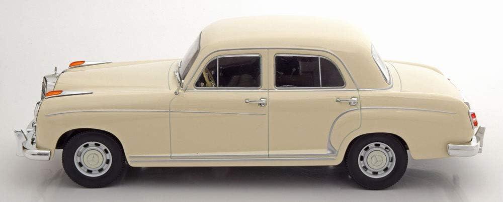 Mercedes 220 S Limousine 1956 Creme /échelle 1//18 mod/èle de Voiture KK Scale KKDC180324