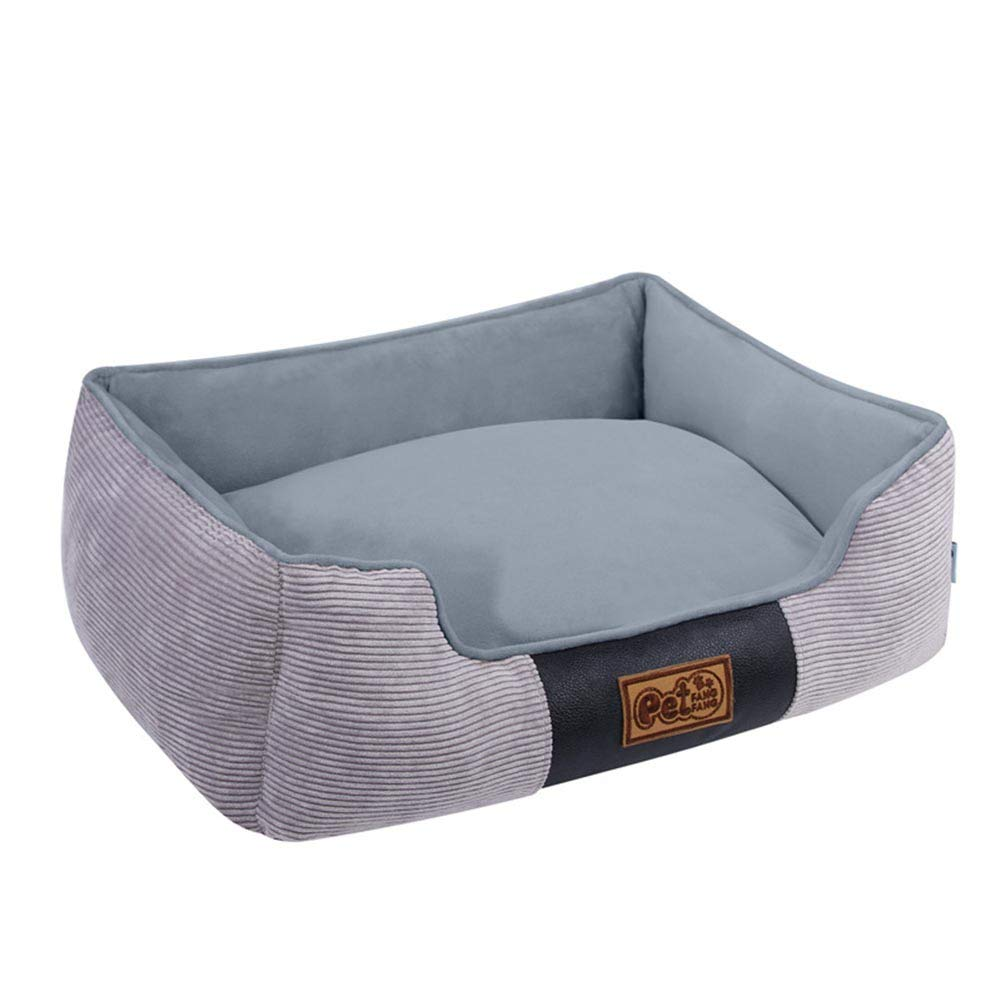 S XXRBB Pet Beds, Waterproof liner premium zippers Multiple Sizes colors Breathable cotton blend removable easy to clean,S