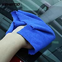 BEESCLOVER 30 * 30CM Microfibre Cleaning Cloth Towel Auto Dish Washing Printing Section High Quality Car Care Universal Car-Styling as Picture Show One Size