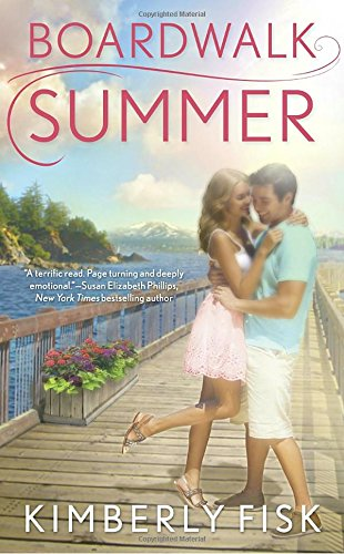 book cover of Boardwalk Summer