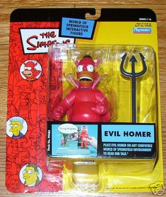 (EVIL HOMER The Simpsons Series 16 World Of Springfield Interactive Figure)
