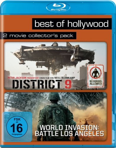 District 9/ World Invasion: Battle Los Angeles - Best of Hollywood/2 Movie Collector's Pack