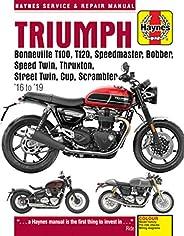 Triumph Bonneville T100, T120, Speedmaster, Bobber, Speed Twin, Thruxton, Street Twin, Cup & Scrambler 900
