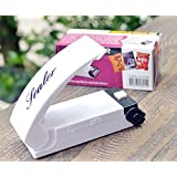 Battery Operated Mini Plastic Bag Sealer (White)