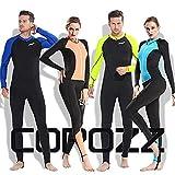COPOZZ Rash Guard, Full Body Thin Wetsuit, Lycra UV
