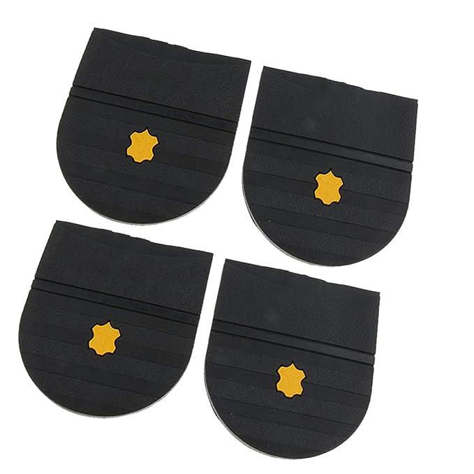 Confortevole 4 Colla Uomo Pezzi Bambini Riparazione Per Talloni Gomma Ipotch Donne Scarpe D2IWEH9