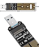 QNINE NVMe to USB Adapter [Upgraded], M.2 PCIe SSD