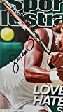 Framed Serena Williams Autographed Magazine Cover