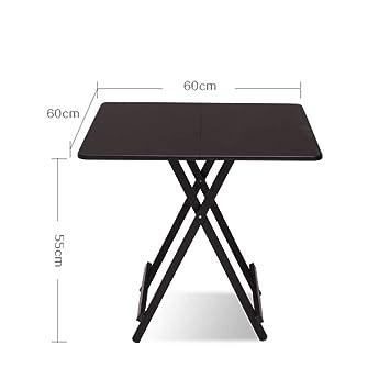 KPPTO Mesa y sillas, mesas y sillas Plegables, Mesa Plegable ...