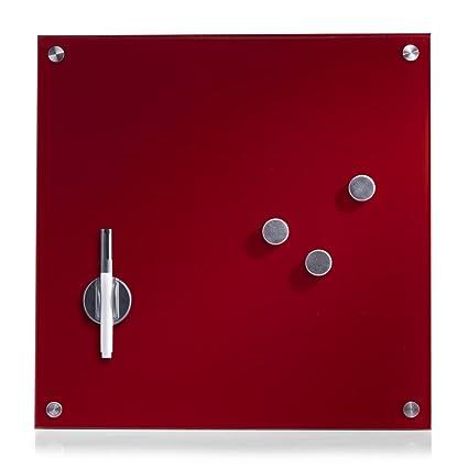 Zeller 11604 Lavagnetta Magnetica In Vetro 40 X 40 Cm Colore