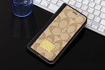 86b5b86e09 COACH コーチ iphone7と iphone7plus専用ケース bkレザー仕上げ 手帳型 57421pk5582 (iPhone7plus)