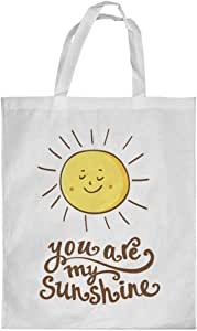 you are my sunshine Printed Shopping bag, Small Size