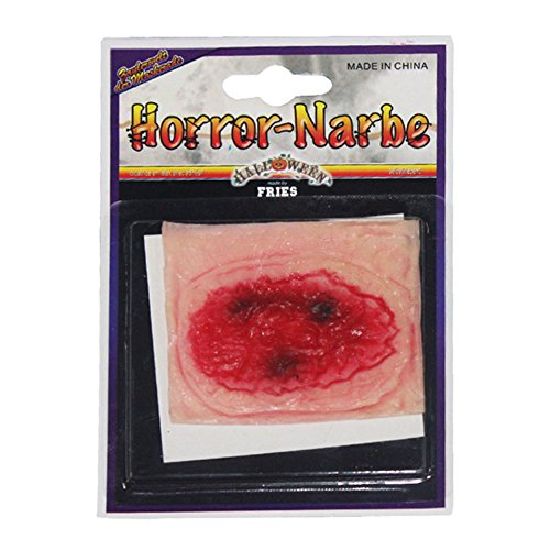 Smartcoco Horror Realistic Bloody Wound Stitch Scar Fake Tattoos Decals Halloween Cosplay Costumes Party Stickers