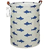 FANKANG Storage Bins, Nursery Hamper Canvas Laundry Basket Foldable with Waterproof PE Coating Large Storage Baskets for Kids Boys and Girls, Office, Bedroom, Clothes,Toys