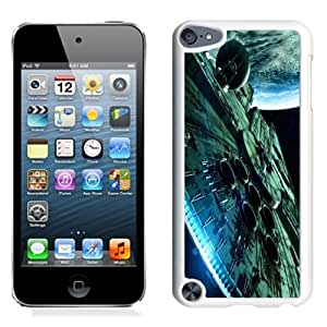 NEW Unique Custom Designed iPod Touch 5 Phone Case With Star Wars Spaceship Science Fiction_White Phone Case